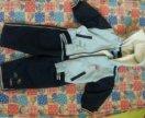 Ветровочный костюм на флисе