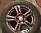 205/60 R16 Dunlop SP Touring на литых дисках R16