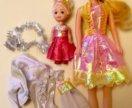 Две куклы с одеждой