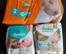 Подгузники Pampers premium care и sleep&pley