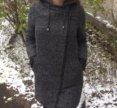 Теплое пальто с капюшоном house
