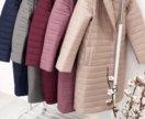 Стёганные зимние пальто пуховики