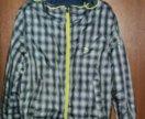 Куртка демисезонная двухсторонняя