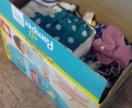 Коробка вещей на девочку от 0 до 1.5-2 лет