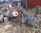 Отдам тополь на дрова