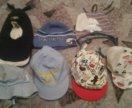 Шапочки и кепки для мальчика