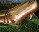 Туфли стандарт для бальных танцев Ecske 22,5 р-р