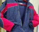 Куртка140зимняя б/у на мальчика