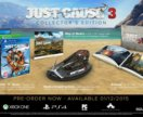 Just cause 3 PC collector S edition новое