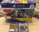 Sony PlayStation 4 500GB (новая)