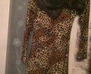 Леопардовое платье новое