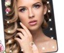 LED Зеркало с подсветкой для макияжа 20светодиодов