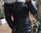 Куртка зимняя. Чернобурка натуральная
