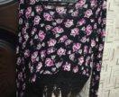 [Крд] Кофта свитер с цветами
