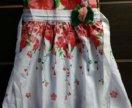 Платье сарафан летний для девочки с Алиэкспресс