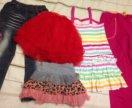Одежда на девочку 98-104 см