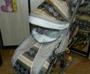 Новые санки коляски