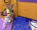 Платки луи витон в подарочной упаковке