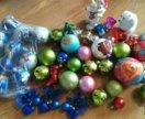 Елочные игрушки набор