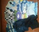 Вещи пакетом на мальчика(рост92-98-104)