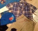 Детские джинсы брюки водолазки шапка футболки