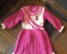 Платье для девочки новое на 1-1,5 года
