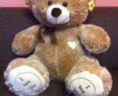 Большой плюшевый медведь 1,1м Кремовый новый
