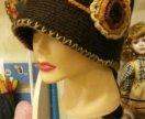 Шляпа шапка зимняя теплая