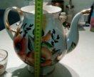 Заварной фарфоровый чайник ЛФЗ