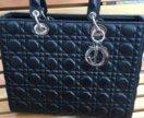 Сумка Lady Dior medium