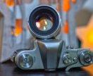 Винтажная камера Зенит 3М с обьективом
