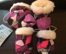 Пинетки и рукавицы зимние
