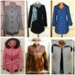 3 пальто, 2 куртки, 1 жилет