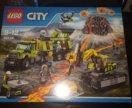 Lego City 60124 База исследователей вулканов