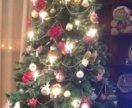 Готовая елка с игрушками