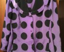 Новая приталенная блуза 52-54