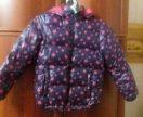 Куртка для девочки (тёплая ) на рост 134