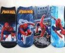 """Детские носки """"Человек паук"""". 18 см.по стельке"""