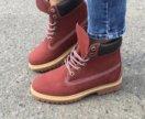 Ботинки ( без меха) Timberland