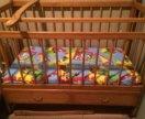 Кроватка детская, от 0 до 3 лет.