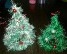 Новогодние елочки, шапочки