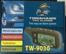 Автосигнализация tomahawk TW-9030 томагавк