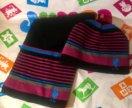 Детский шарф и шапка USPA Polo 4-7 лет