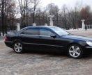 Аренда автомобиля с водителем. Mercedes S500 W220