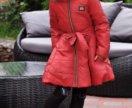 Новое детское зимнее пальто на рост до 140 см