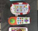 Музыкальные игрушки -телефон