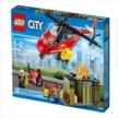 Новый большой LEGO City 60108: Пожарная команда