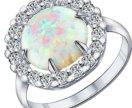 Sokolov Серебряное кольцо с опалом