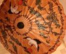 Зонт деревянный из Тайланда