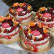 Новогодние тортики- четвертинки